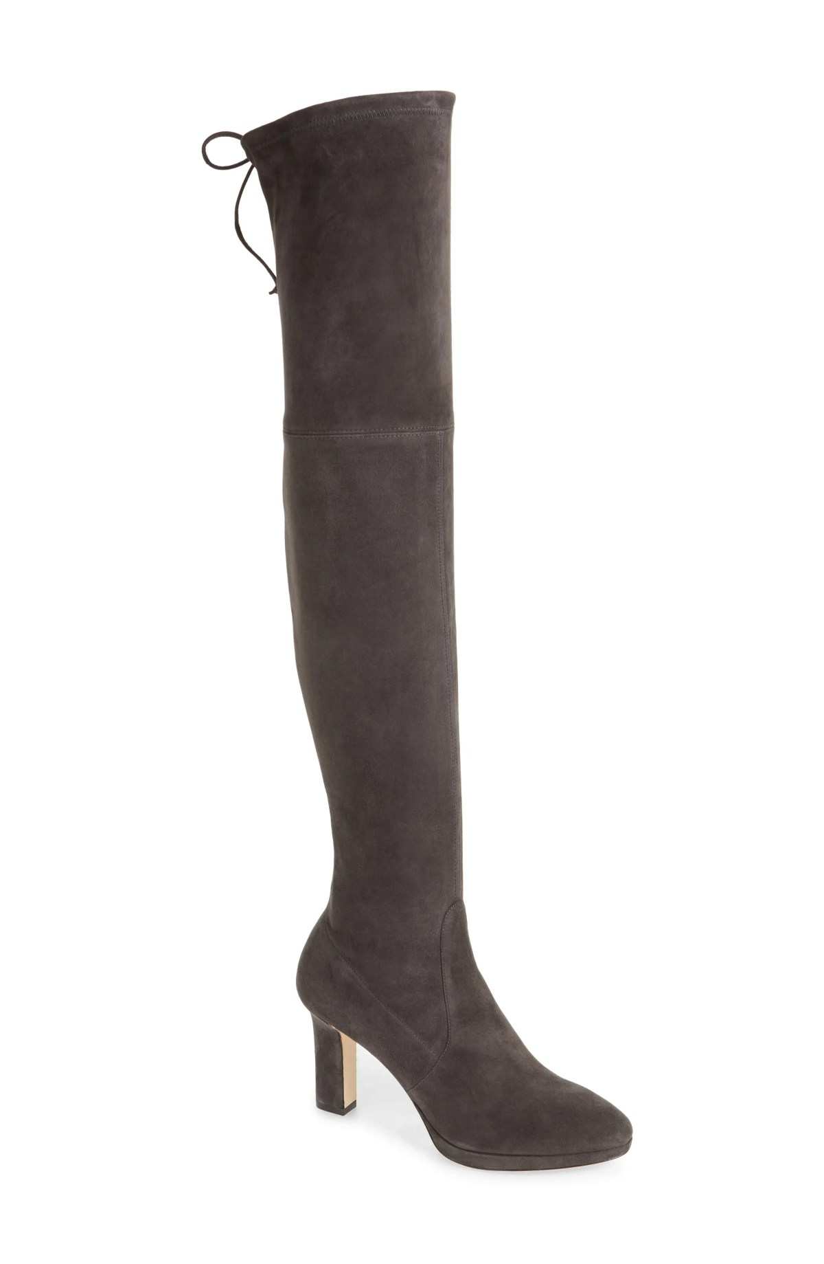 STUART WEITZMAN Ledyland Over the Knee Boot, Main, color, SLATE SUEDE