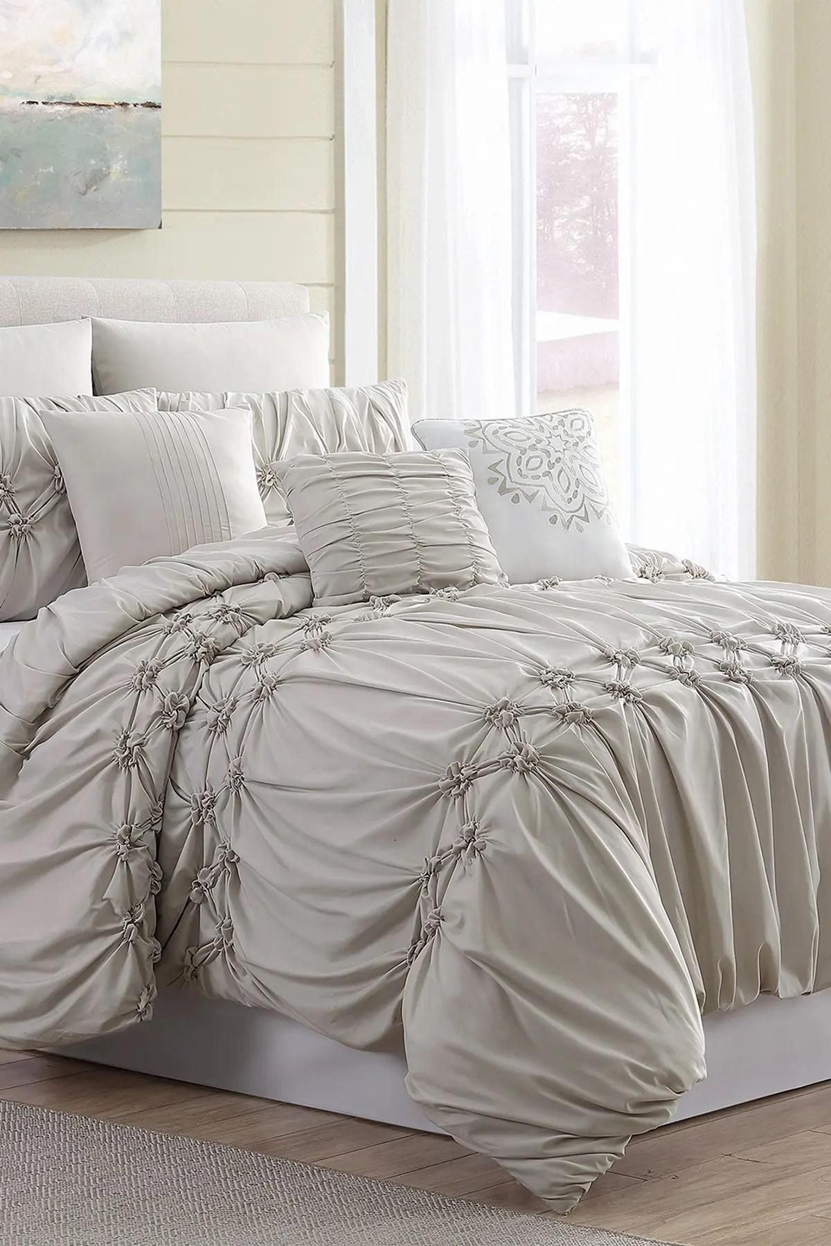 modern threads queen morgan comforter set beige nordstrom rack