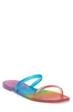 Churchs Churchs Rainbow T-bar Sandal Python Print Stone. Sandals Nordstrom Rack