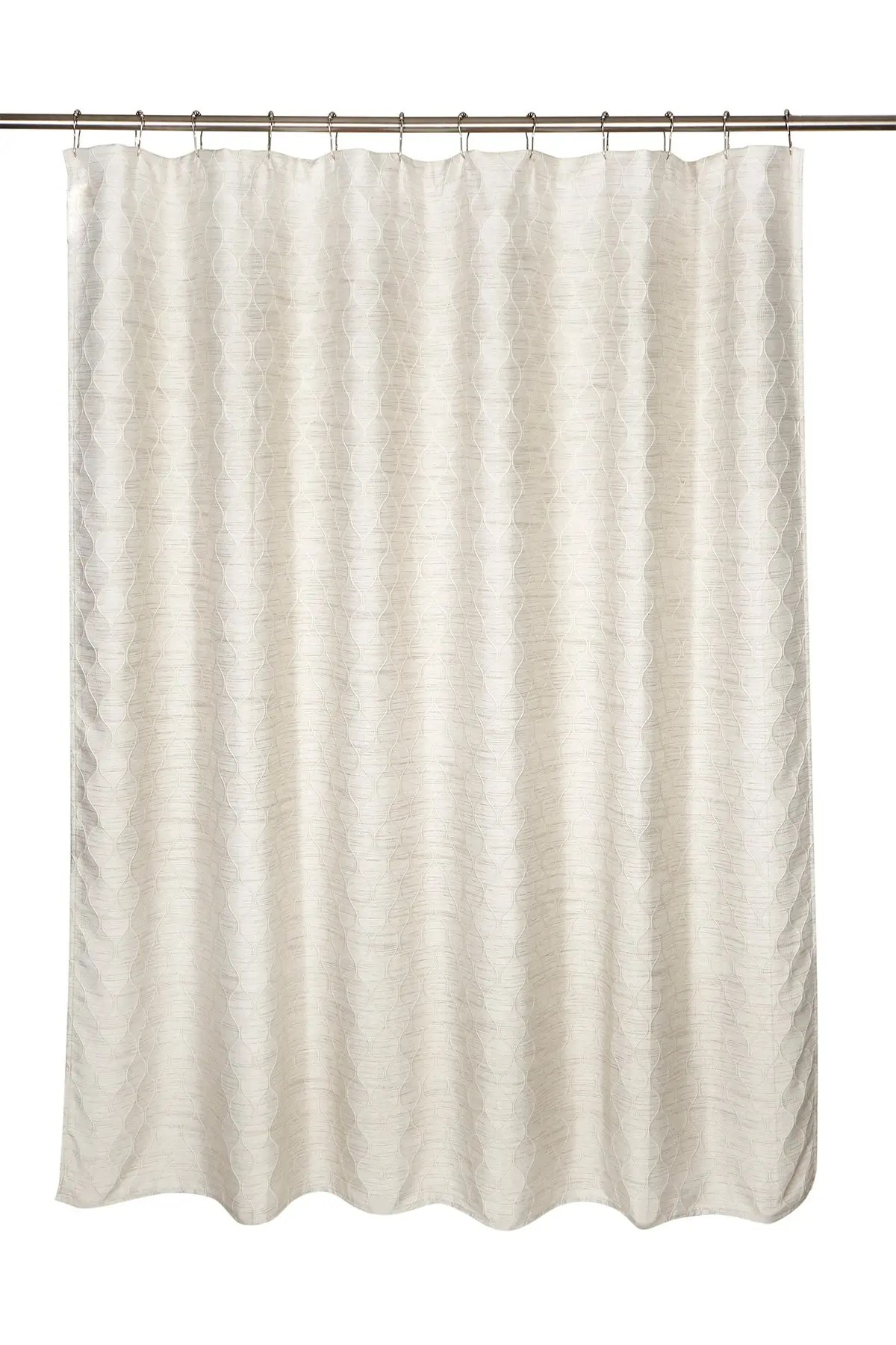 moda at home everest jacquard shower curtain nordstrom rack