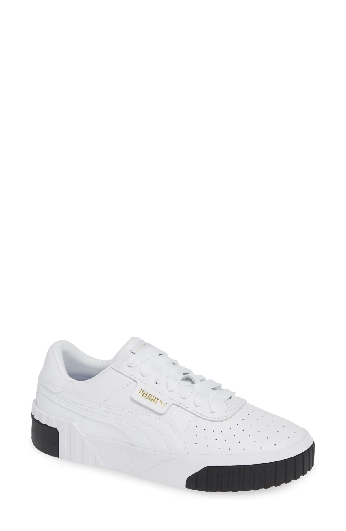 PUMA California Sneaker, Main, color, PUMA WHITE/ PUMA BLACK