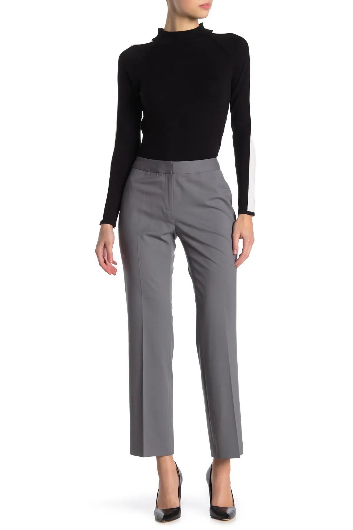 lafayette 148 new york menswear wool blend pants nordstrom rack