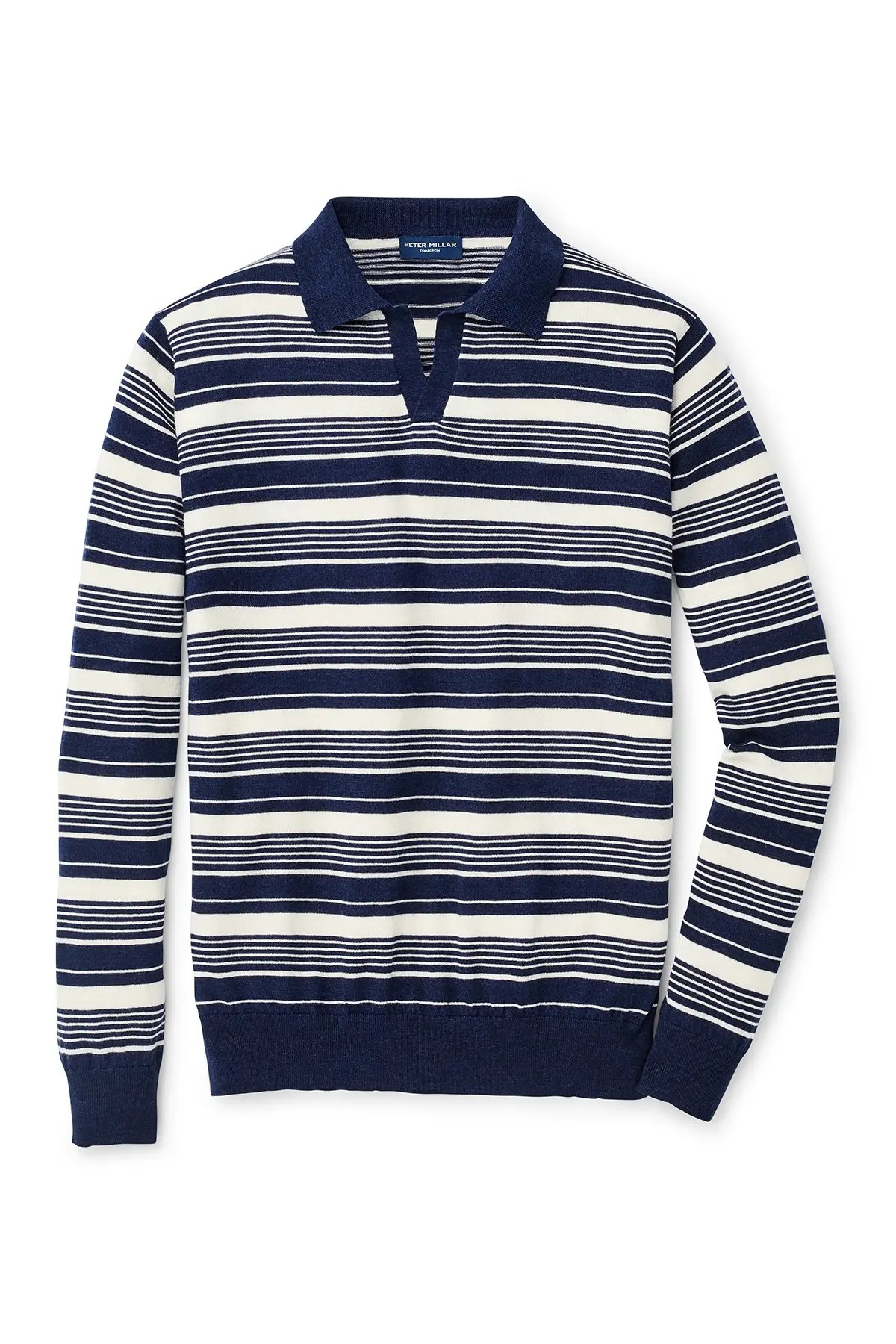 peter millar spring sails riviera collar wool blend sweater nordstrom rack
