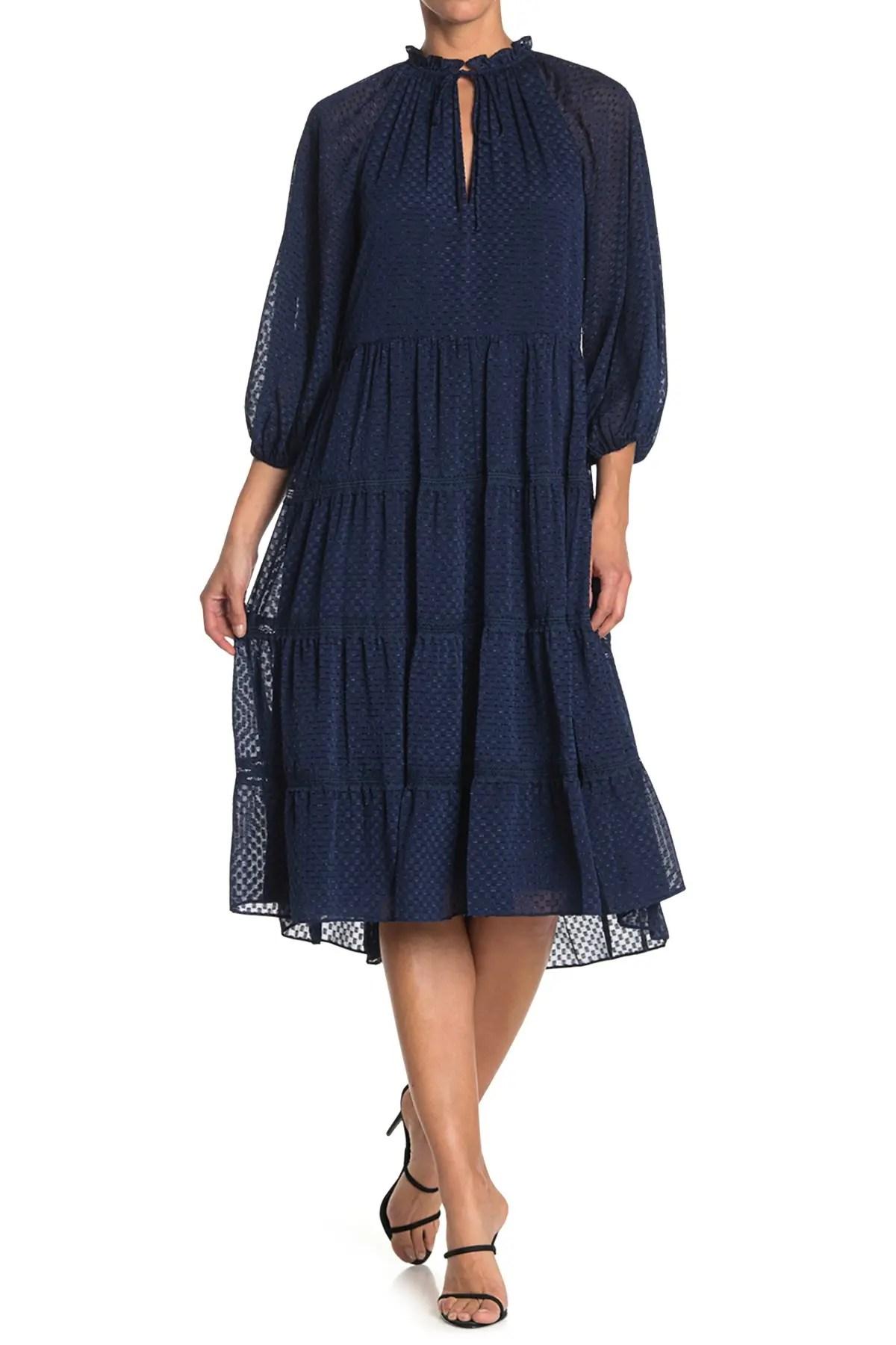 layla tiered ruffle dress