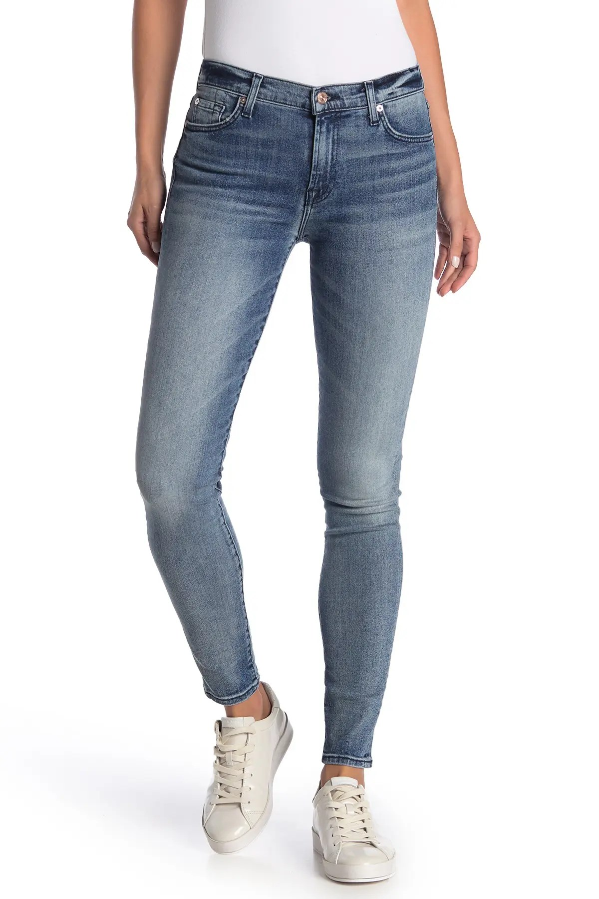 7 for all mankind the skinny with squiggle skinny jeans nordstrom rack
