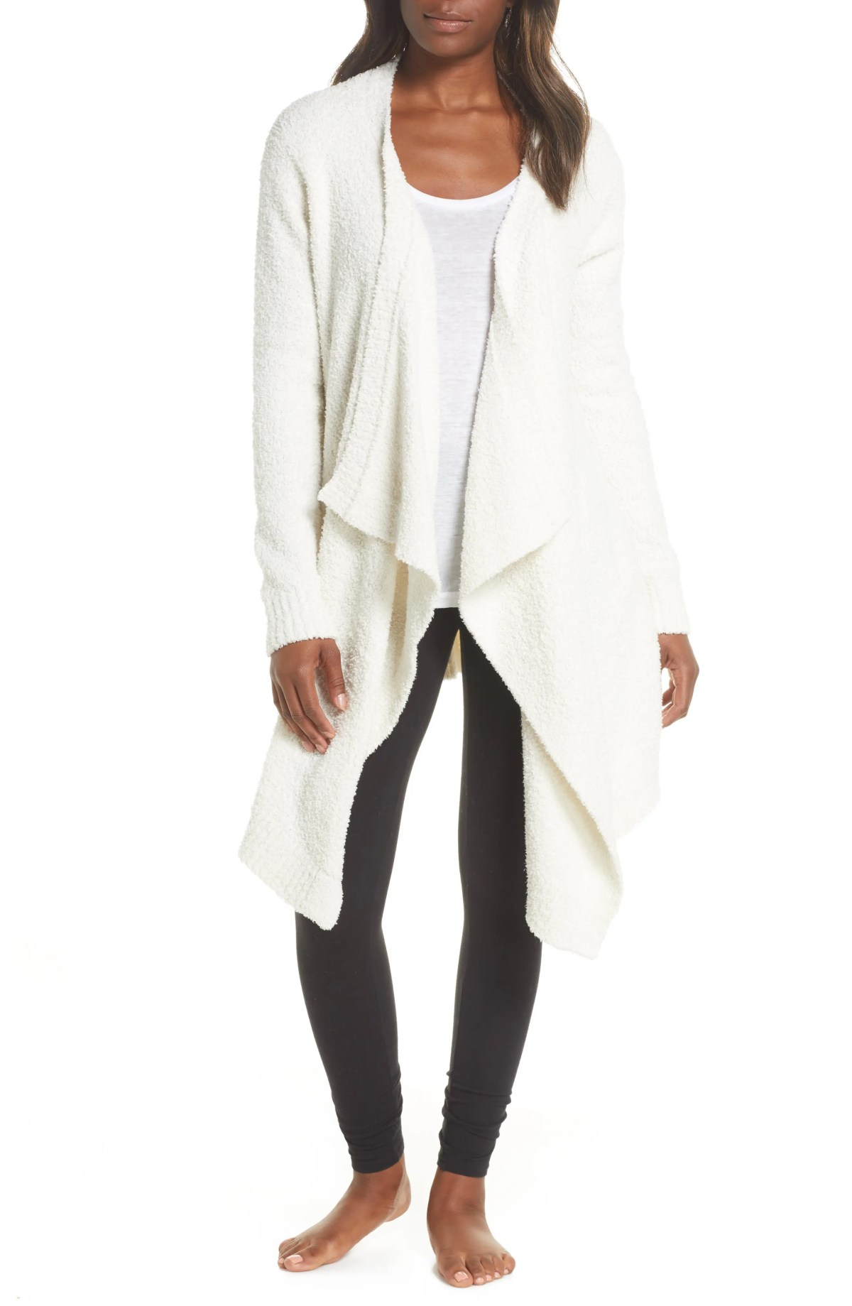 UGG<SUP>®</SUP> Phoebe Wrap Cardigan, Main, color, CREAM