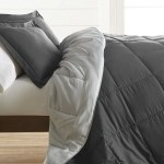 Ienjoy Home Treat Yourself To The Ultimate Down Alternative Reversible 2 Piece Comforter Set Gray Twin Hautelook