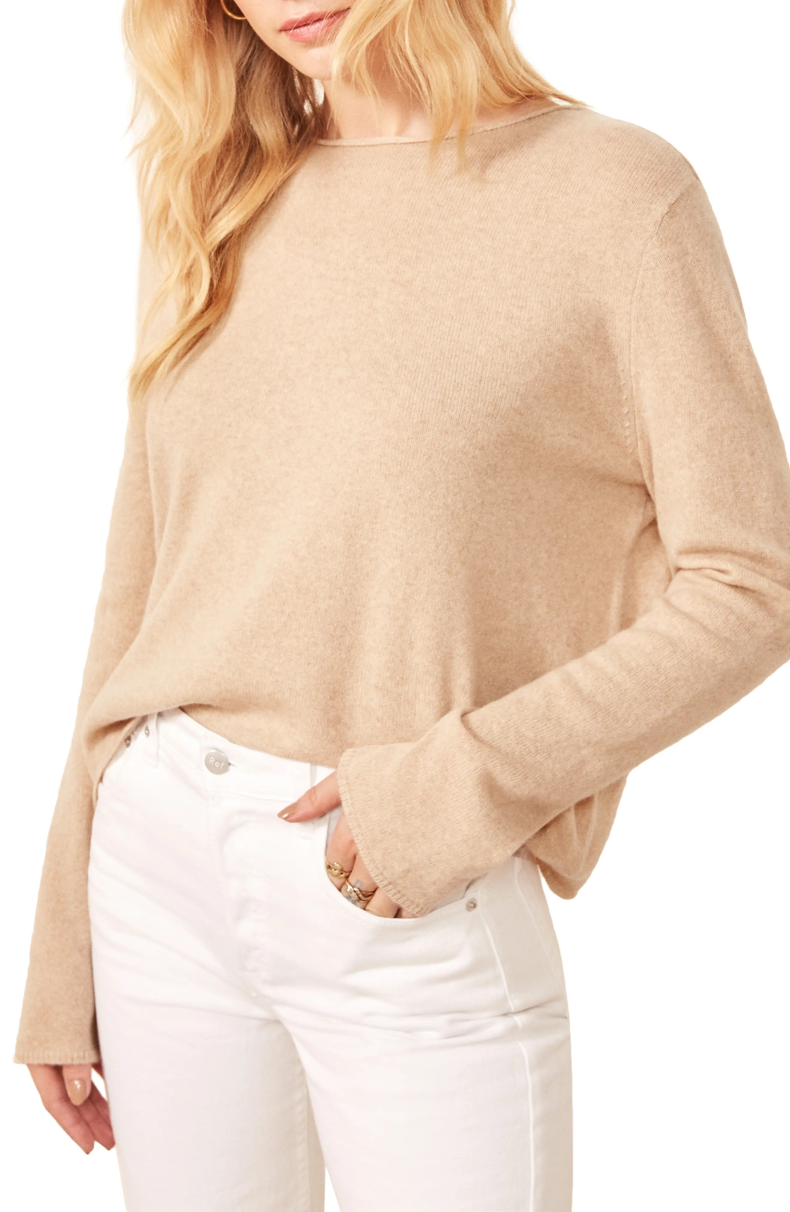 reformation cashmere blend sweater nordstrom rack