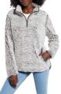 Wubby Fleece Pullover, Main, color, CHARCOAL