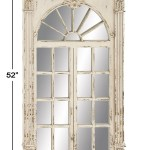 Willow Row Extra Large Rectangular Antique White Window Framed Wall Mirror 33 X 52 Hautelook