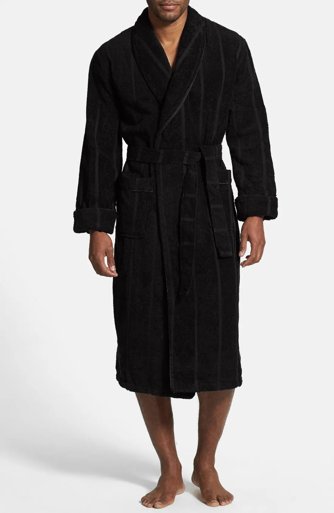 Ultra Lux Robe, Main, color, BLACK