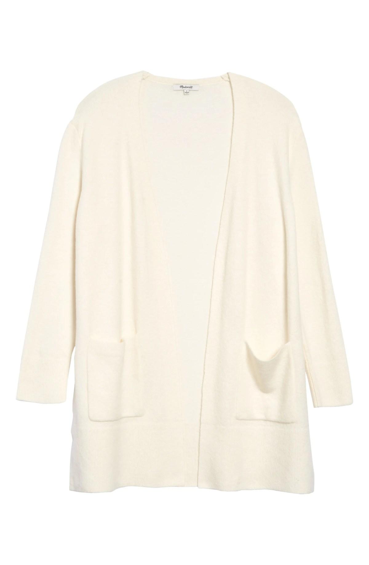 Kent Cardigan Sweater, Main, color, ANTIQUE CREAM