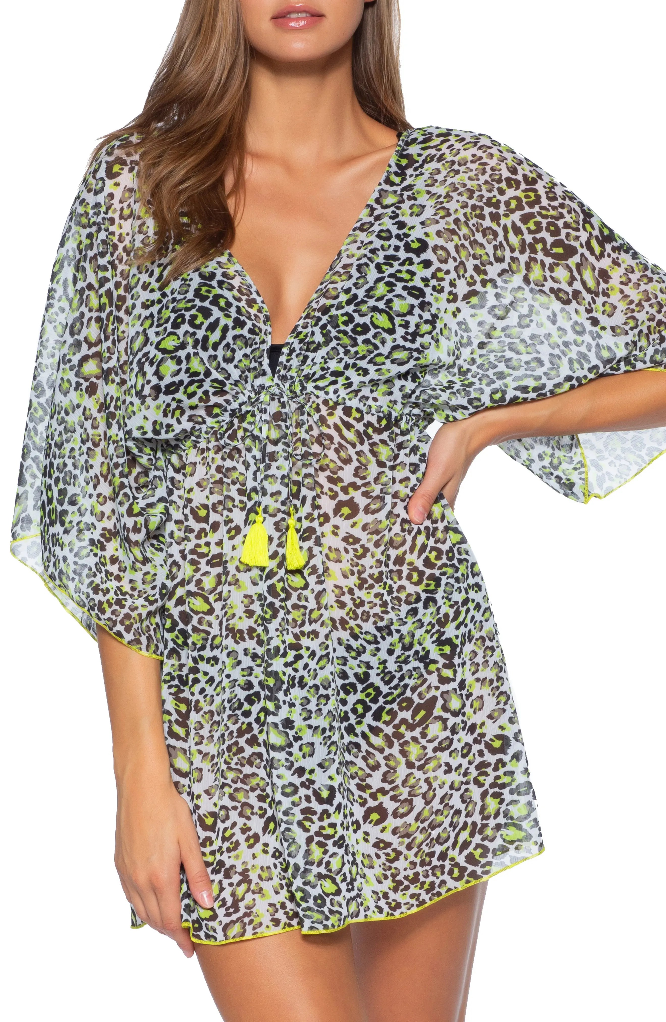 into the wild cover up tunic