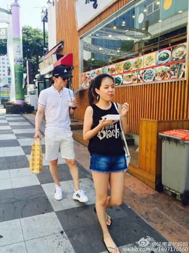 哈文曬李詠與女兒外出照 法圖麥被贊有氣質