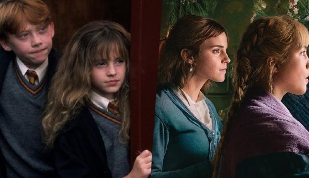 《哈利波特与魔法石》vs《小妇人》海报