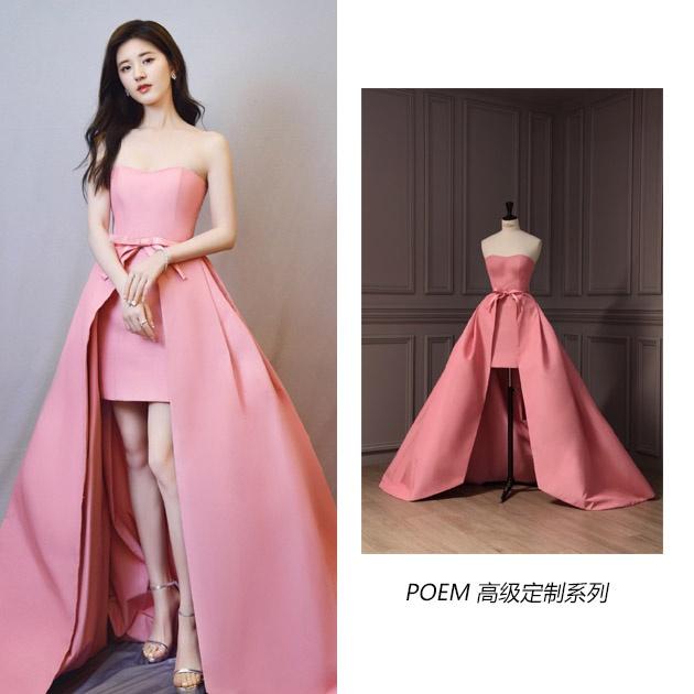 赵露思的礼服造型