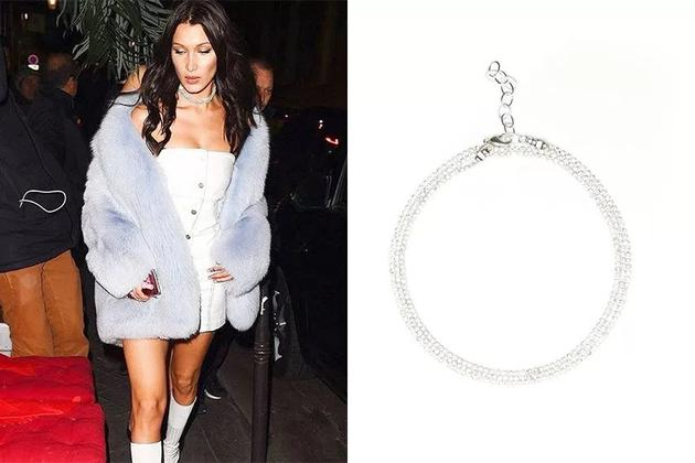 Bella Hadid wearing Frasier Sterling