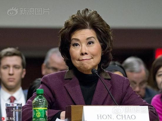 美國參議院通過提名 趙小蘭將出任運輸部長_新浪網