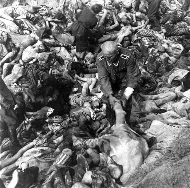 二戰納粹集中營老照片: 鬼知道他們經歷了什么!