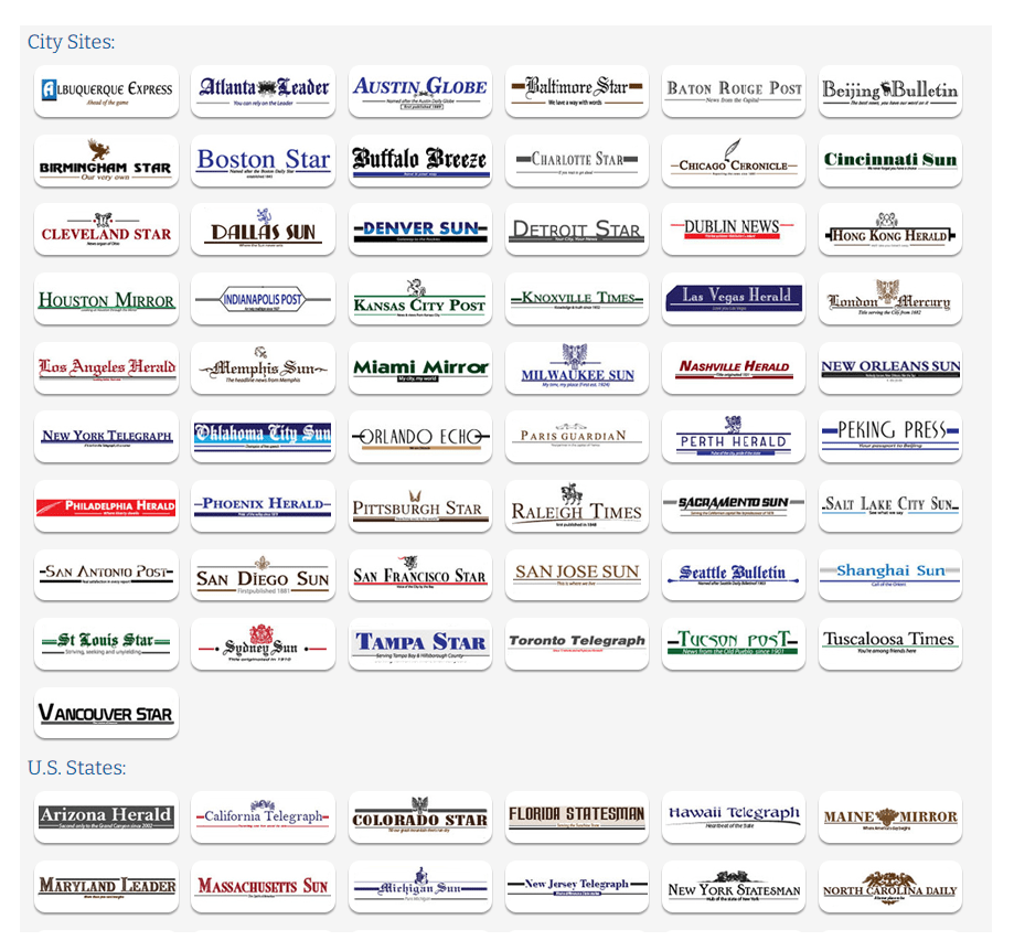 The above is part of 750 fake local media platforms directly or indirectly controlled by Srivastava Group worldwide.