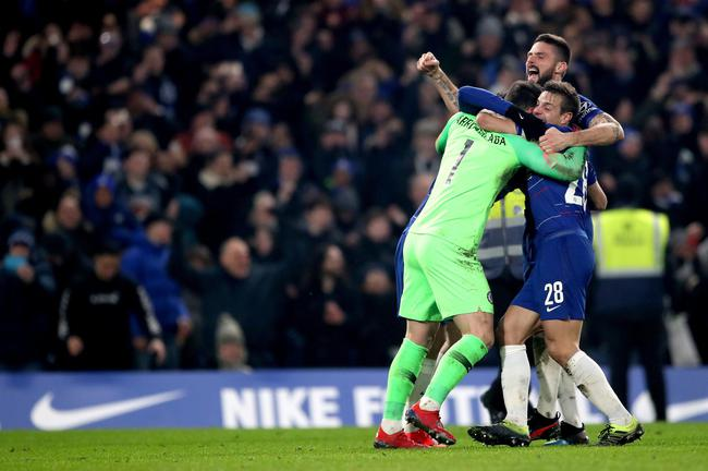 Chelsea 2-1 Tottenham,Chelsea will face Manchester City in the final12