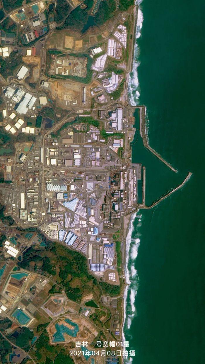 图片:日本福岛第一核电站