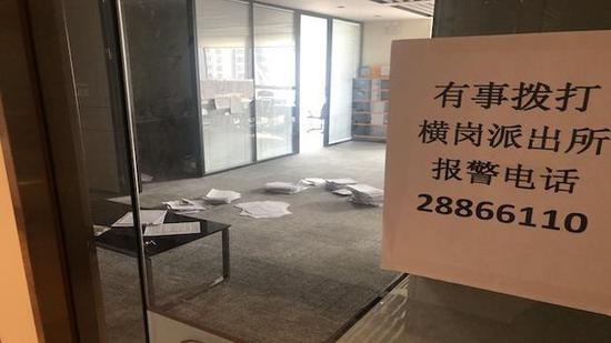 深圳一巢客係長租公寓人去樓空圖源:第一財經