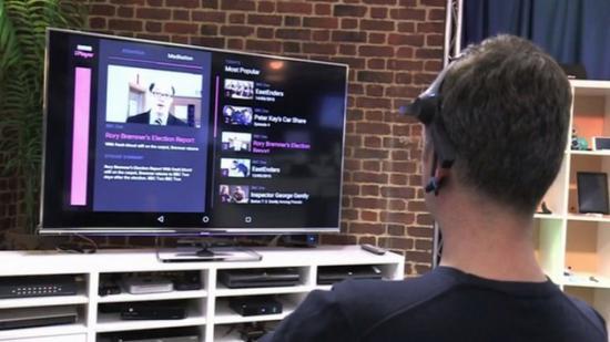 告別遙控器 BBC試驗用大腦調台