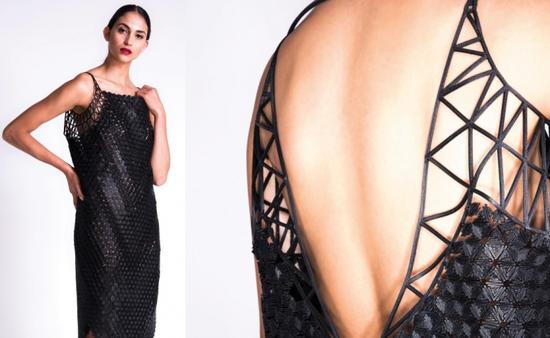 3D打印連衣裙:製作一件耗時400小時