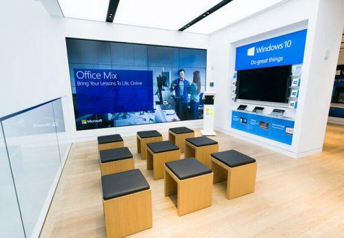 微軟要踢館 在第五大道和蘋果商店做鄰居
