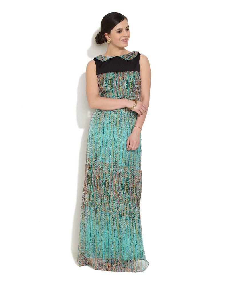 Avirate Multi Avirate Aesthetic Heiress Maxi Dress