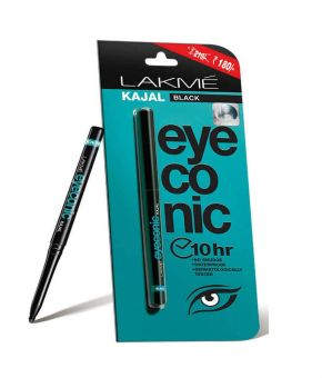 Buy Lakme Eyeconic Black Kajal, 0.35g At Flat 10% Off @ Snapdeal