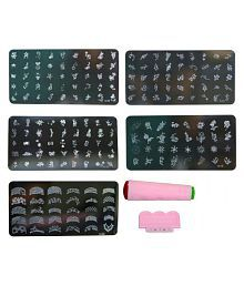 30pcs Rolls Striping Tapes Colorful Line Nail Stickers Diy Art Kit Manicaure Beauty Decorations For Uv Gel Polish