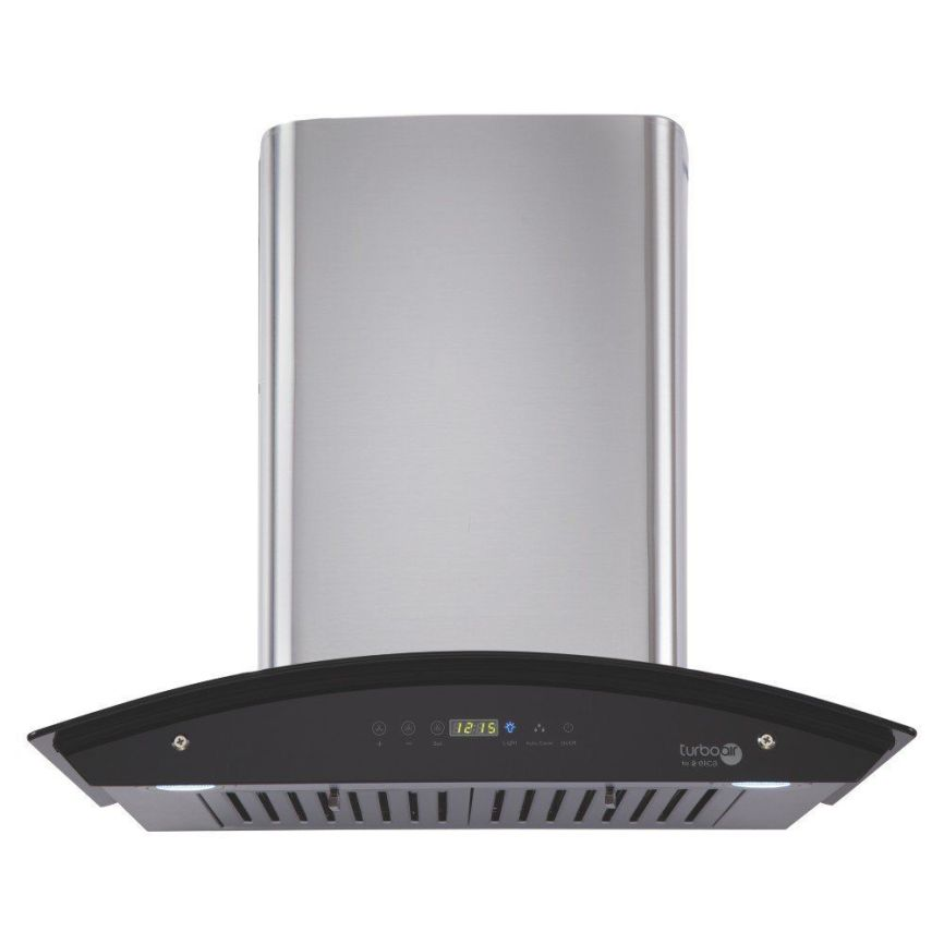 Elica 1200 m3/h Heat Auto Clean with Touch Control 60 cm (OSB HAC TOUCH BF 60, Grey) Chimney