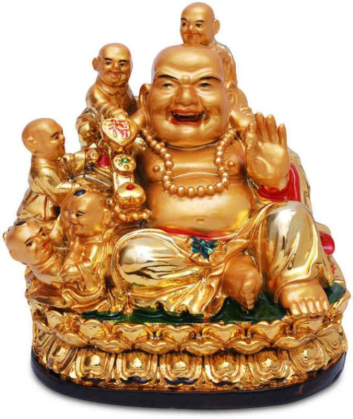 Vastu Resin Laughing Buddha Buy Vastu Resin Laughing Buddha At Best Price In India On Snapdeal