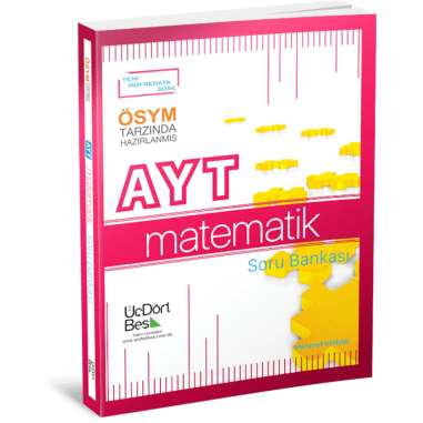 ÜçDörtBeş Yayınları AYT Matematik Soru Bankası PDF İndir 1 | uc dort bes ayt matematik soru bankasi 0948070553843957