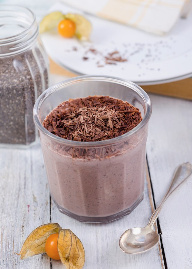 Recipes with chia for detox (photo