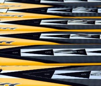 Naish N!SCO one design paddleboards line up