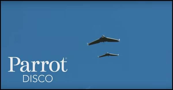 Parrot DISCO ドローン