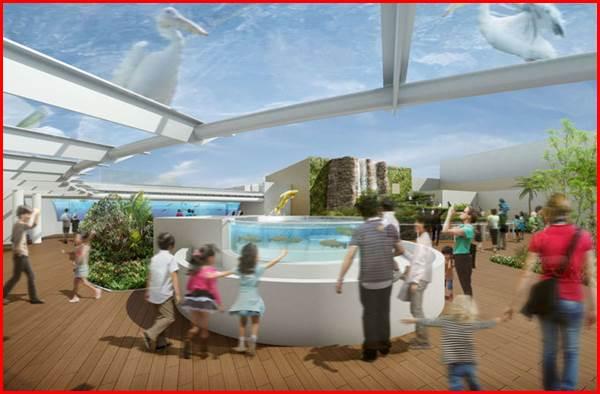 きらめきの泉 サンシャイン水族館 マリンガーデン