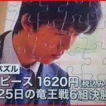 藤井聡太四段のジグソーパズルはどこで買える?ネットではいつから?