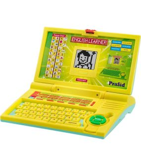 Snapdeal- Buy PraSid Kids English Learner Laptop with 20 Activities At Rs 439 Only