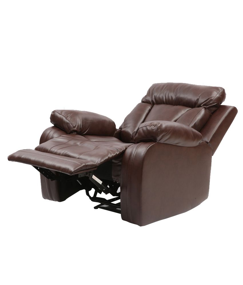 Large Brown Leather Sectional