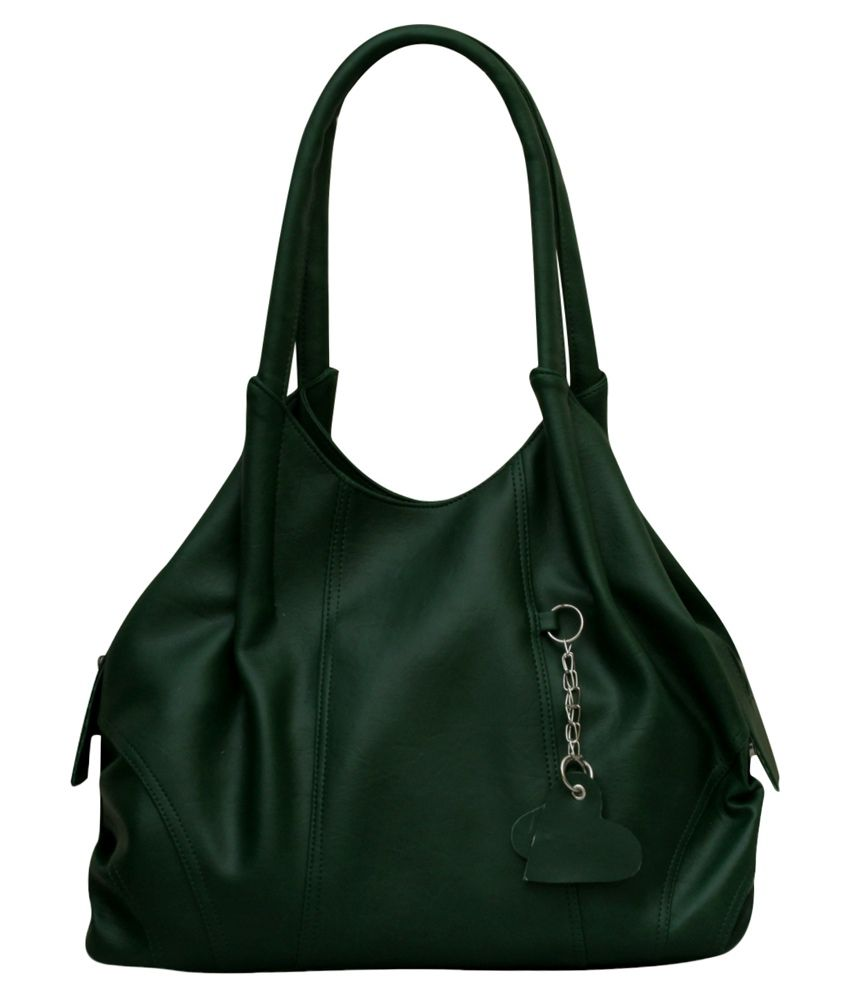 Fostelo Green Shoulder Bag