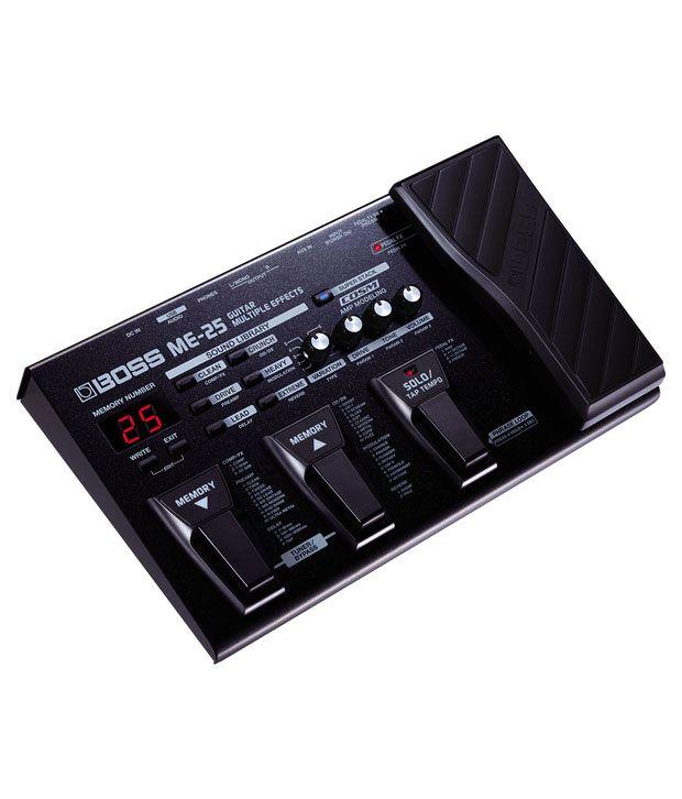 Boss ME-25 Guitar Multi-effects Processor: Buy Boss ME-25 ...
