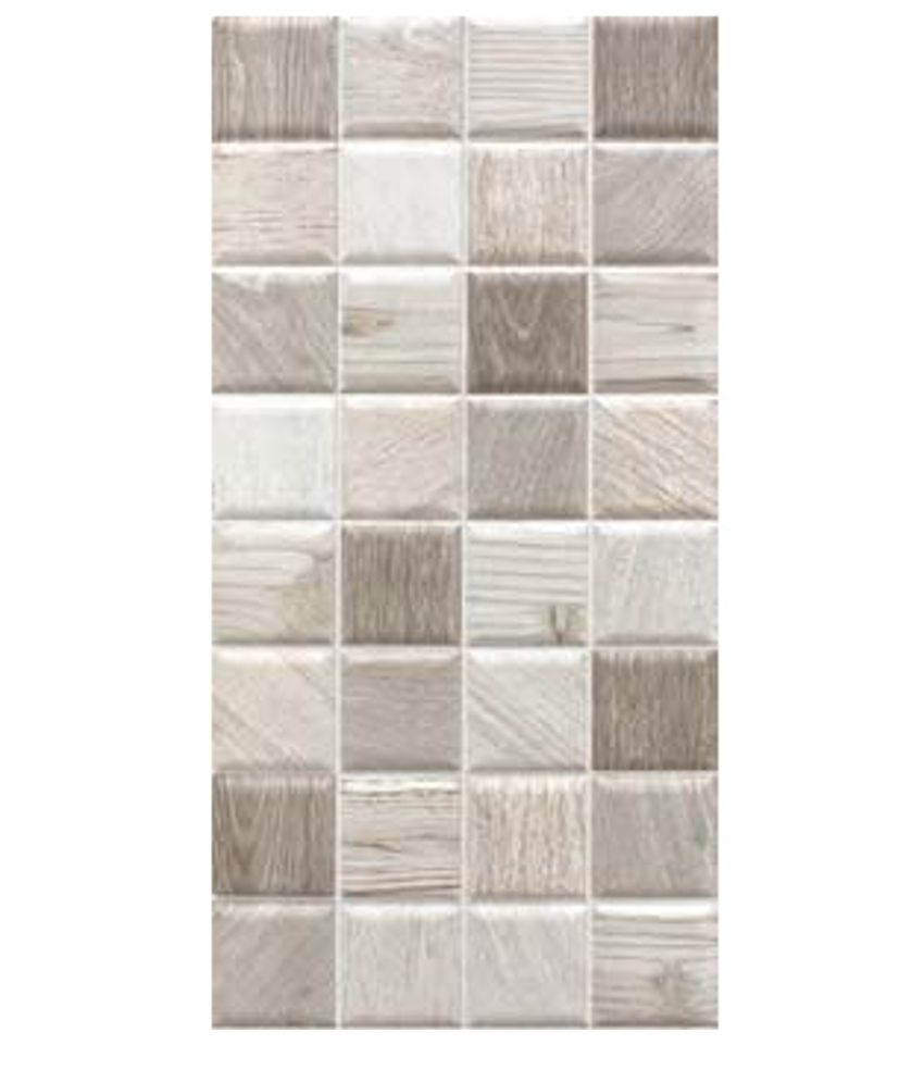 Buy Kajaria Ceramic Wall Tiles Gomez Wood Crema Online