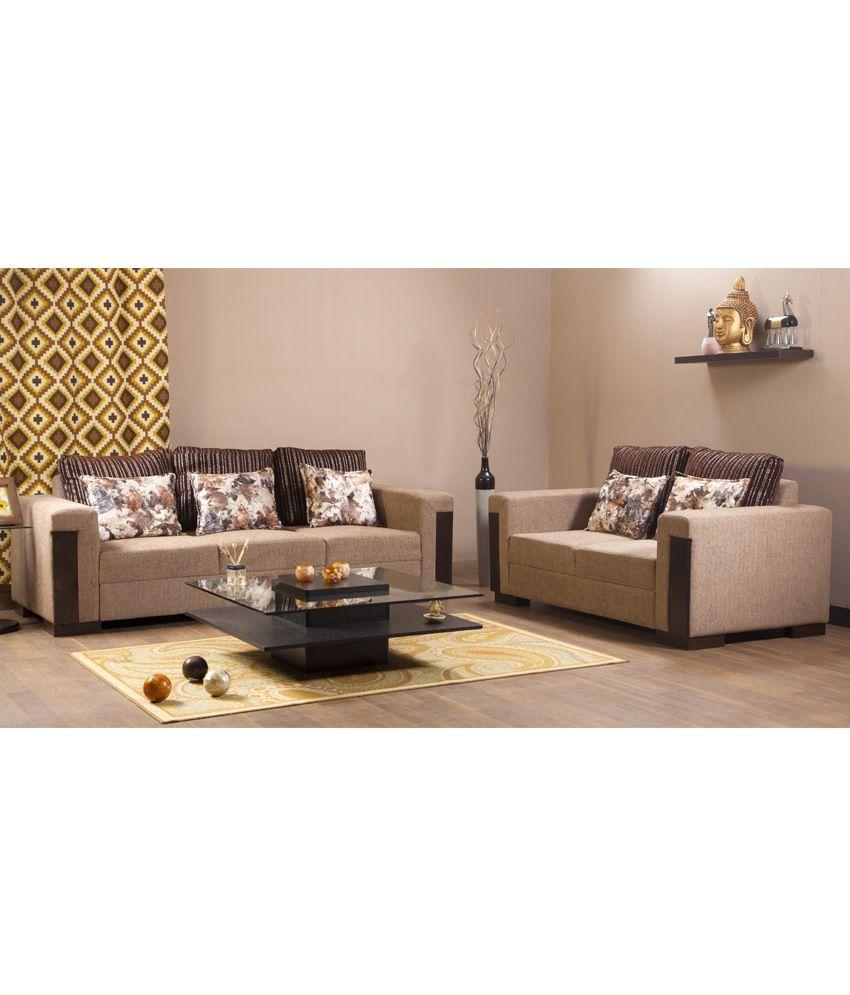 Hometown Fabric 3 2 Sofa Set