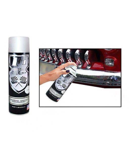 Formula1 Car Bike Spray Paint 300ml Chrome