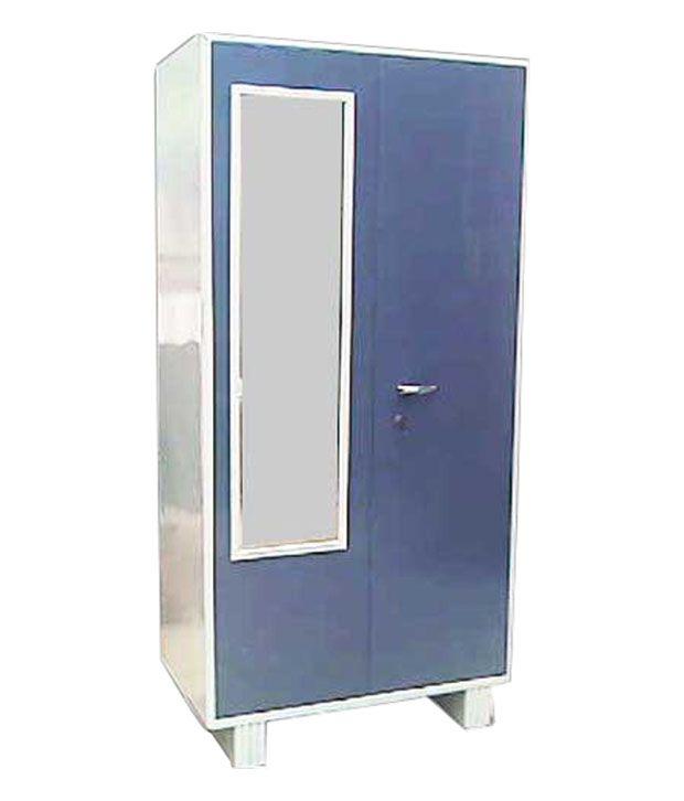 Kwality Furniture Blue Metal Steel Almirah Buy Online At