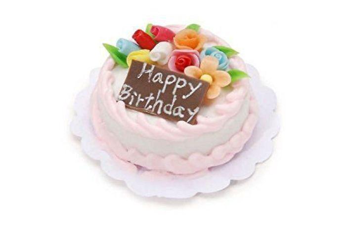 Miniature Happy Birthday Cake Buy Miniature Happy Birthday Cake